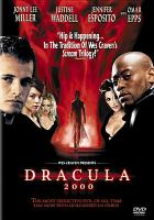 Cover image for Dracula 2000