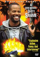 Cover image for A low down dirty shame