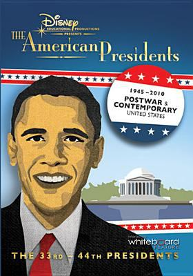 Cover image for The American presidents 1945-2010, post war & contemporary United States