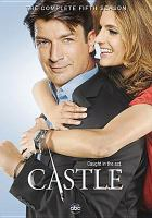 Cover image for Castle the complete fifth season