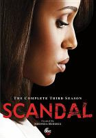 Cover image for Scandal the complete third season