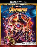 Cover image for Avengers: Infinity war