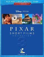 Cover image for Pixar short films collection. Volume 3