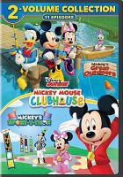 Cover image for Mickey Mouse Clubhouse 2-volume collection
