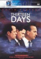 Imagen de portada para Thirteen days
