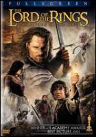 Cover image for Lord of the rings. The return of the king