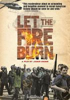 Cover image for Let the fire burn