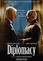 Cover image for Diplomatie = Diplomacy