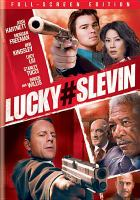 Cover image for Lucky number Slevin