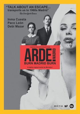 Cover image for Arde Madrid burn Madrid burn.