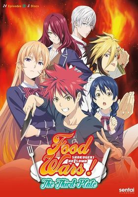 Cover image for Food wars! Shokugeki no Soma. The third plate