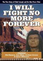 Imagen de portada para I will fight no more forever