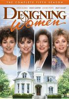 Cover image for Designing women Complete fifth season.