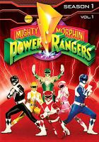 Cover image for Mighty Morphin Power Rangers. Season 1, vol. 1