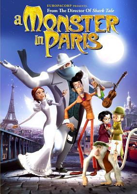 Cover image for A monster in Paris