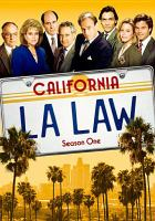 Cover image for L.A. law Season one