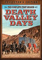 Cover image for Death Valley days. The complete first season