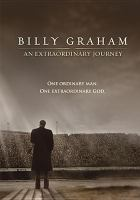 Cover image for Billy Graham an extraordinary journey