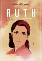 Cover image for Ruth Justice Ginsburg in her own words