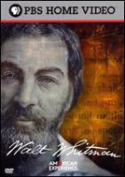 Cover image for American experience. Walt Whitman