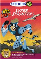 Cover image for Wild Kratts Super sprinters.