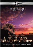 Cover image for A thief of time