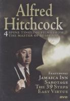 Cover image for Alfred Hitchcock 4 spine tingling films from the master of suspense.