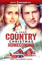 Cover image for A very country Christmas homecoming