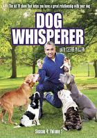 Cover image for Dog Whisperer with Cesar Millan. Season 4, volume 1