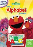 Cover image for Sesame Street Elmo's alphabet challenge