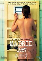 Cover image for Madrid, 1987
