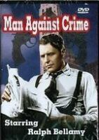 Cover image for Man against crime