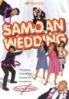 Cover image for Samoan wedding