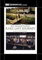 Cover image for One thousand pictures R.F.K.'s last journey