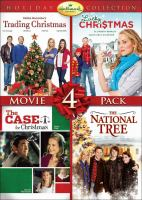 Cover image for Hallmark Channel holiday collection Movie 4 pack.
