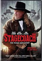 Cover image for Stagecoach the Texas Jack story
