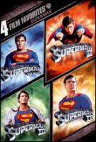 Cover image for Superman 4 film favorites.
