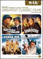 Cover image for Greatest classic films collection. War