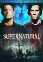 Cover image for Supernatural The complete fourth season