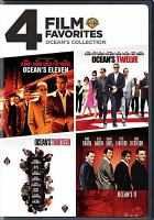 Cover image for 4 film favorites Ocean's collection