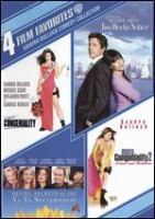 Cover image for 4 film favorites Sandra Bullock comedy collection.