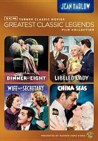 Cover image for Greatest classic legends films collection Jean Harlow.