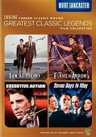 Cover image for Greatest classic legends film collection. Burt Lancaster