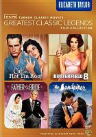 Cover image for Turner Classic Movies greatest classic legends film collection. Elizabeth Taylor