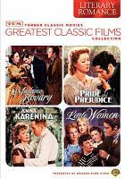 Imagen de portada para Greatest classic films collection. Literary romance