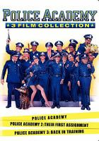 Cover image for Police academy 3 film collection