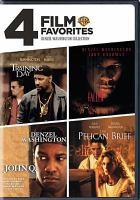 Cover image for 4 film favorites Denzel Washington collection