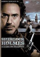 Imagen de portada para Sherlock Holmes a game of shadows