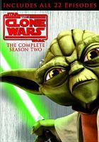 Cover image for Star wars, The clone wars The complete season two.