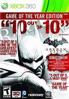 Cover image for Batman Arkham city